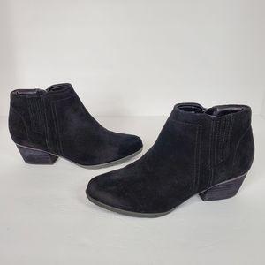Blondo Villa waterproof black ankle booties 8.5M